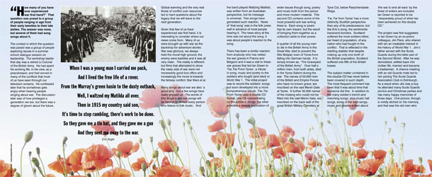Far, Far from Ypres - magazine layout